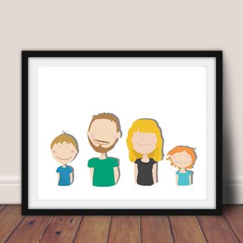 Personalised Family Portait
