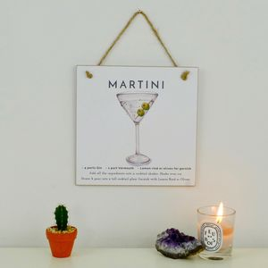Martini Cocktail Gift A Card