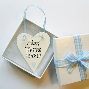 New Baby Personalised Love Token - keepsakes
