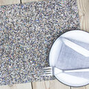 Beach Clean Placemats Set Of Four