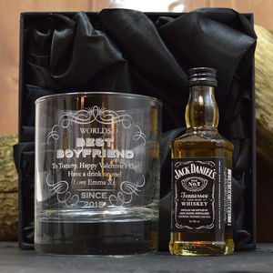 Best Boyfriend Personalised Spirit Set - new in food & drink