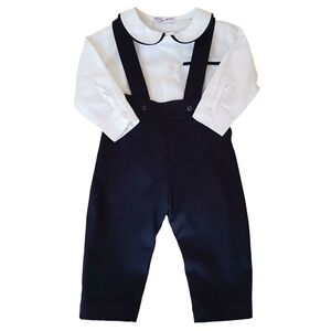 George Baby Boy Shirt And Trousers Set 100% Cotton