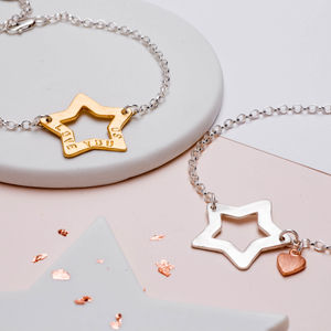 Personalised My Star Bracelet - gifts for women