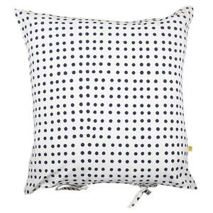 Nohar Irregular Spot Cushion Cover Indigo - bedroom