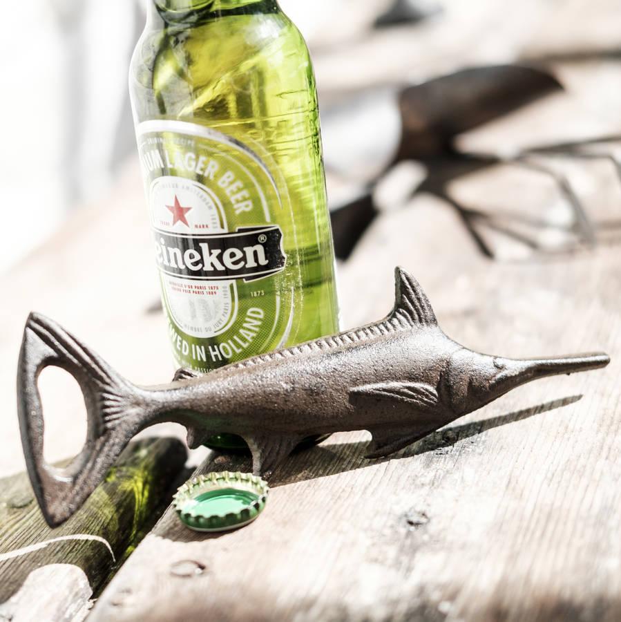 swordfish bottle opener by men 39 s society. Black Bedroom Furniture Sets. Home Design Ideas