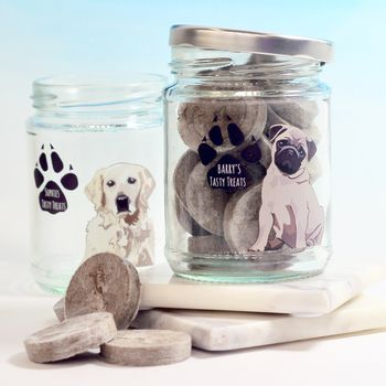 Personalised Dog Treat Jar