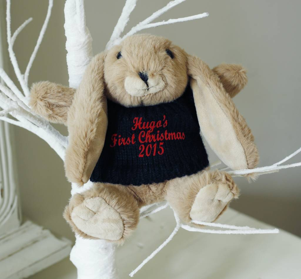 Personalised Brown Bunny
