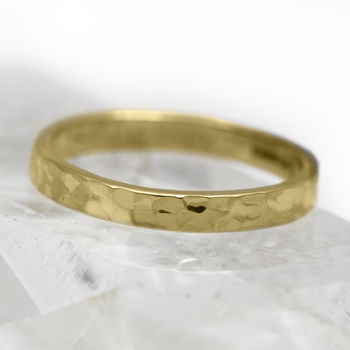 4mm Flat Profile 18ct Gold 'Suisgill' Wedding Ring