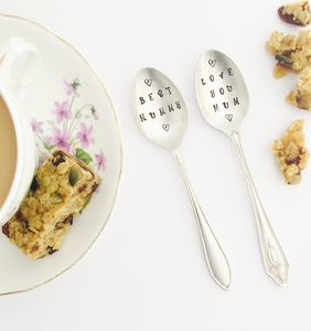 Personalised Mothers Day Tea Spoon - dining room