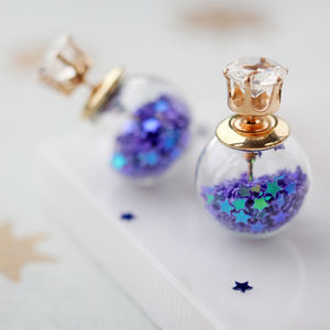 Bauble Star Two Way Earrings