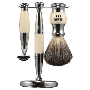 Double Edge Razor Shaving Set Imitation Ivory