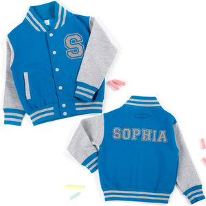 Children's Personalised Varsity Jacket - clothing