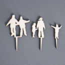 Personalised Family In The Forest Cake Topper
