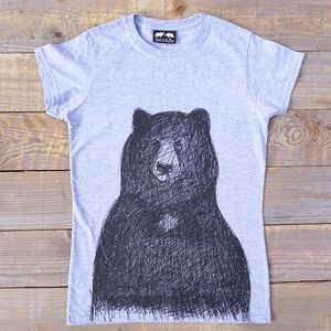 Big Bear Women's Fitted T Shirt - new in fashion