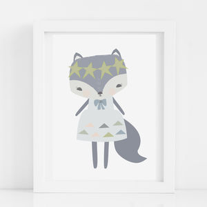 Little Miss Fox - posters & prints
