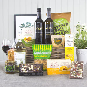 Indulgent Gift Hamper With Duo Of Wines