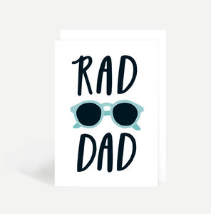 'Rad Dad' Father's Day Card