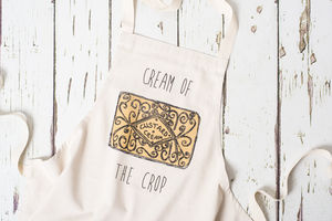 Custard Cream Apron - cooking & food preparation