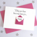 Personalised Envelope Mum Days Card