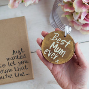 'Best Mum Ever' Chocolate Medal
