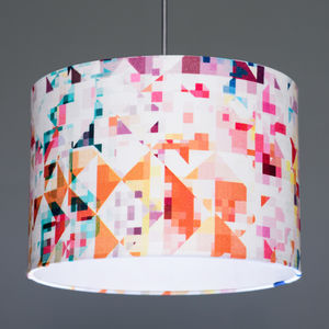 Flock Northmore Minor Fabric Lampshade
