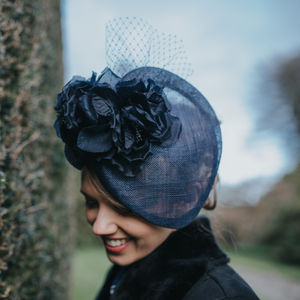 Navy Occasion Hat 'Armscote' - hats & fascinators