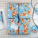 Fox Eco Recycled Wrapping Paper