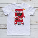 Personalised Zoo Bus Children's Tshirt