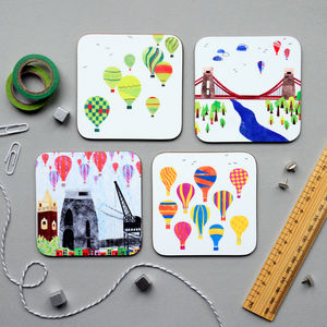 Bristol Coasters Set - dining room