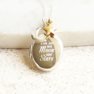 You Are My Moon And Stars Necklace - necklaces & pendants