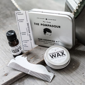 Hair Kit How To Style The Pompadour Hair Kit