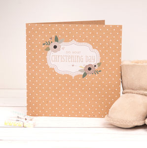 Christening Card - christening cards