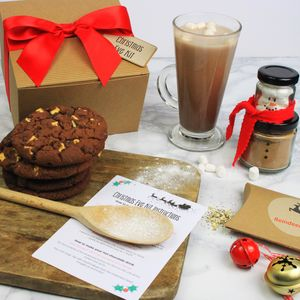Personalised Childrens Christmas Eve Baking Kit - teas, coffees & infusions