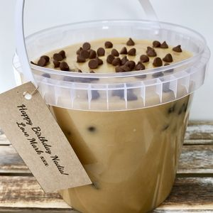 Edible Cookie Dough Bucket - wedding favours