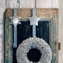 Christmas Silver Wreath Or Stocking Hook