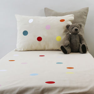 Dotty Cot Bedding Set - cot bedding