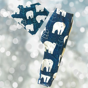 Polar Bear Christmas Set - the 'no pink or blue' children's collection
