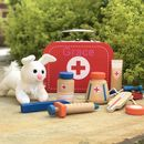 Personalised Wooden Vet Kit