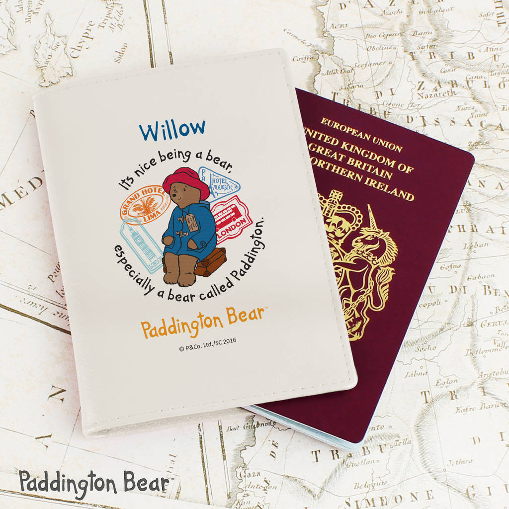 13e1056cb53 personalised paddington bear passport cover by thelittleboysroom ...