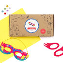 Personalised Superhero Masks Craft Activity Box