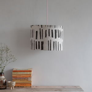 'Silyn' Linen Lampshade