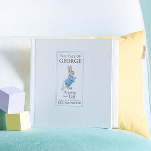 Personalised Tale Of Peter Rabbit Gift Boxed Book - birthday gifts