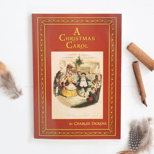 Personalised A Christmas Carol Book - books