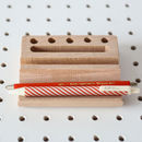 Wooden Desk Tidy And Pen Holder