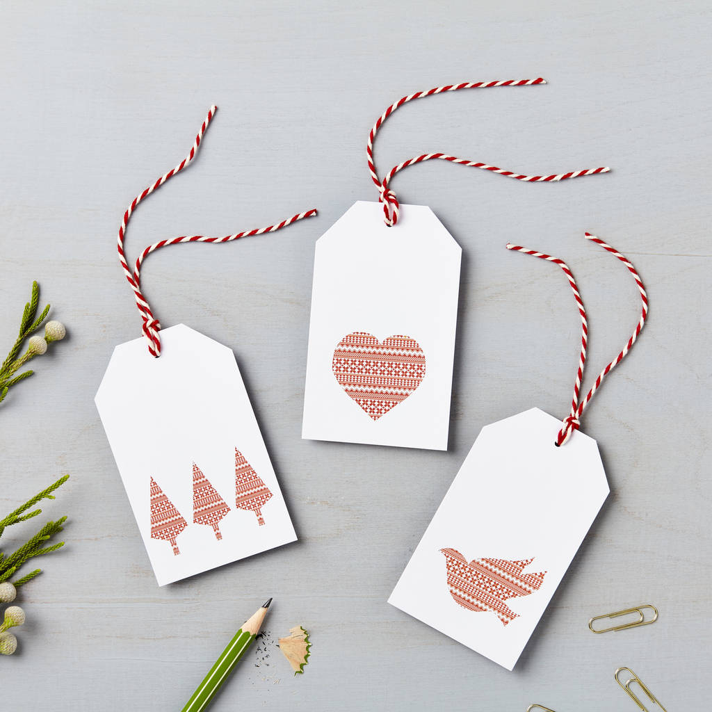 Nordic Charity Christmas Gift Tags By Lucy Says I Do ...