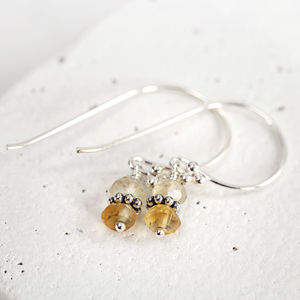 Handmade Citrine Earrings