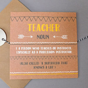Funny Teacher Card - teacher cards