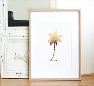 Palm Tree Print - gifts for her
