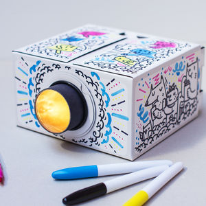 Colour In Smartphone Projector - wedding day activities