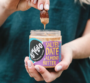Set Of Two Salted Date Almond Butter 2x230g